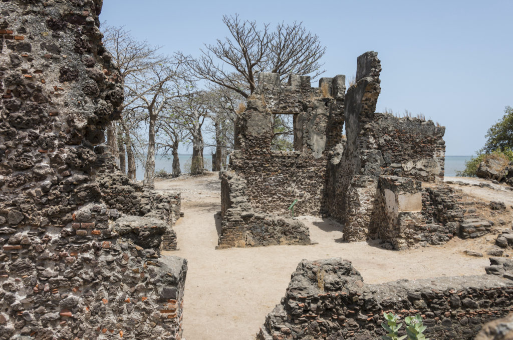 Fort James The Gambia by Salvador Aznar Shutterstock