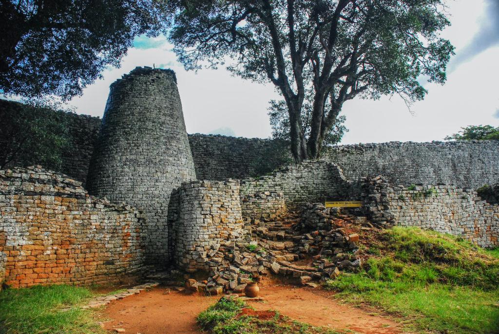 Great Zimbabwe Zimbabwe Africa ruins by Jo Reason Shutterstock