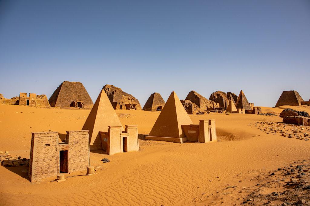 Meroe Pyramids Sudan by evenfh SHutterstock