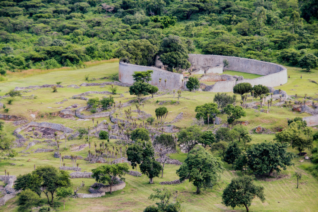 Great Zimbabwe Zimbabwe Africa ruins by events Shutterstock
