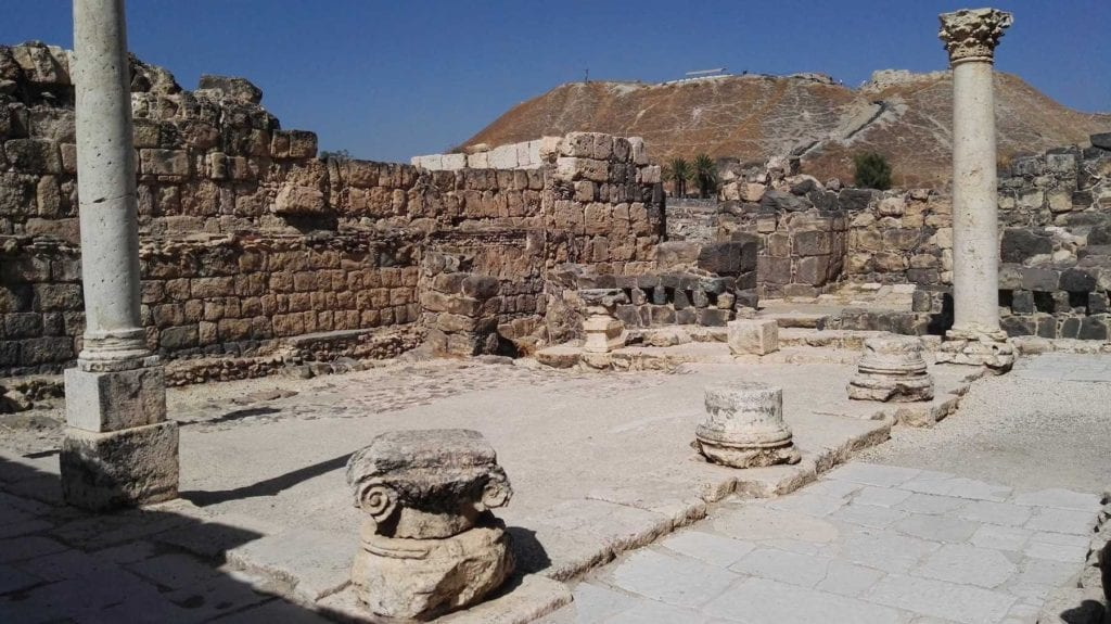 Beit Shean National Park Israel by Bukvoed Wikimedia Commons