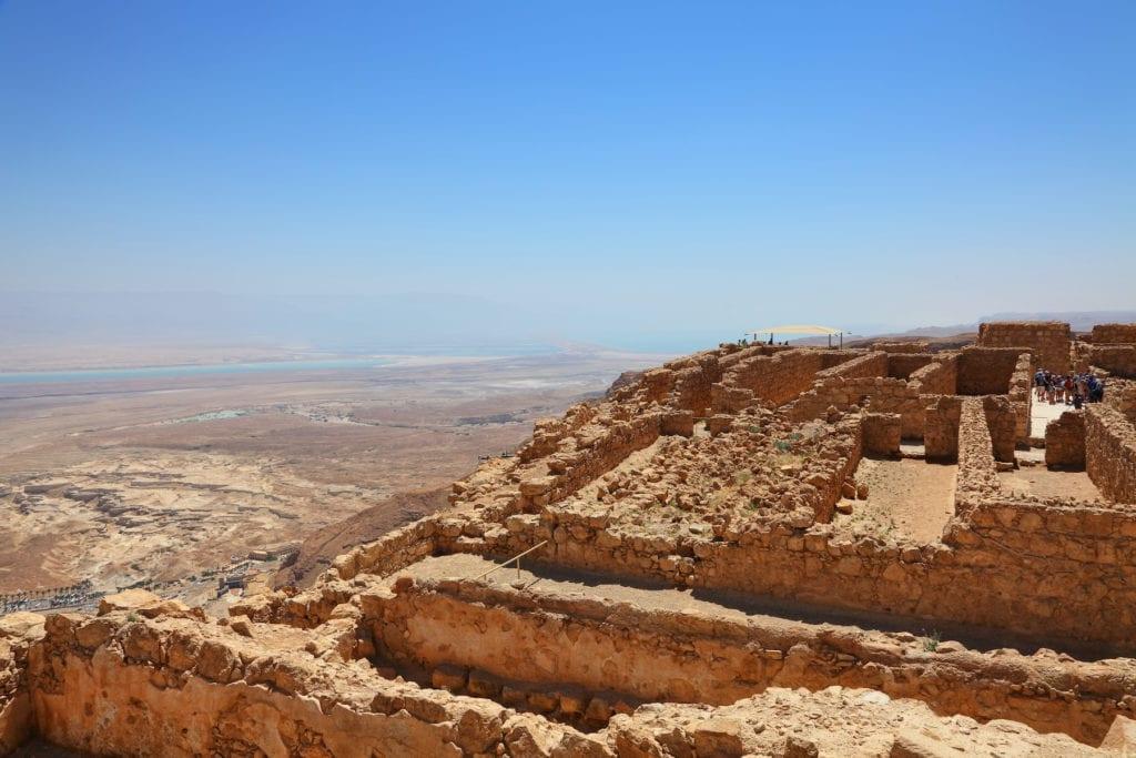 Masada Israel by Protasov AN Shutterstock