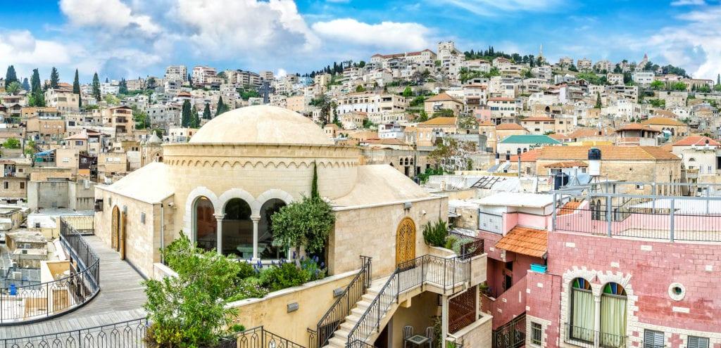 Nazareth Israel by JekLi Shutterstock