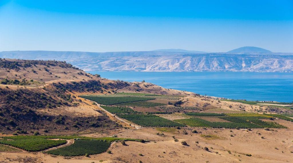 Sea of Galilee Israel by Roman Sulla Shutterstock