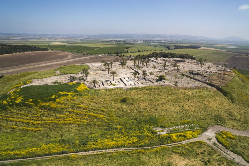Tel Megiddo Israel by Itamar Grinberg IMOT