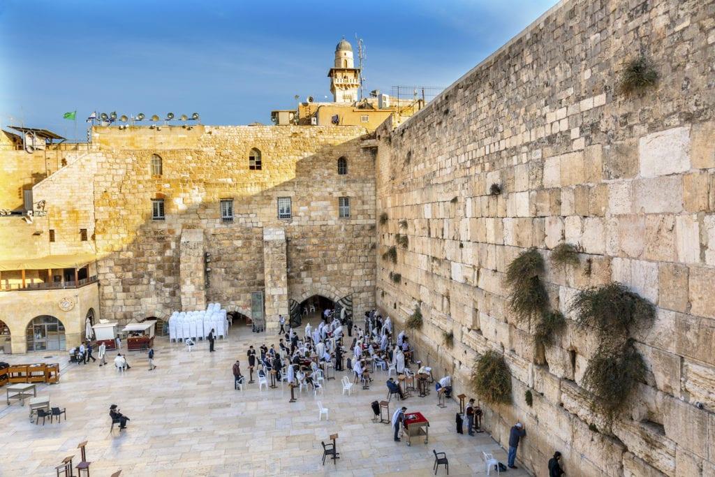 Western Wall Jerusalem Israel by Bill Perry Shutterstock