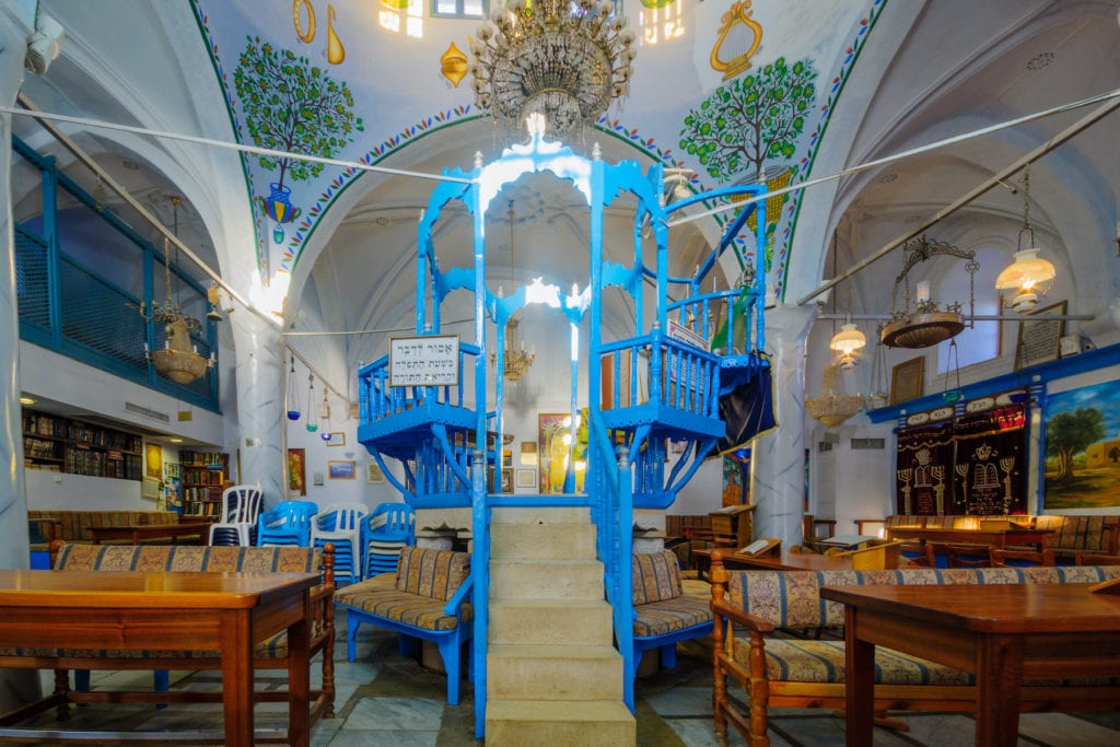 Abuhav Synagogue Safed Israel by RnDmS Shutterstock