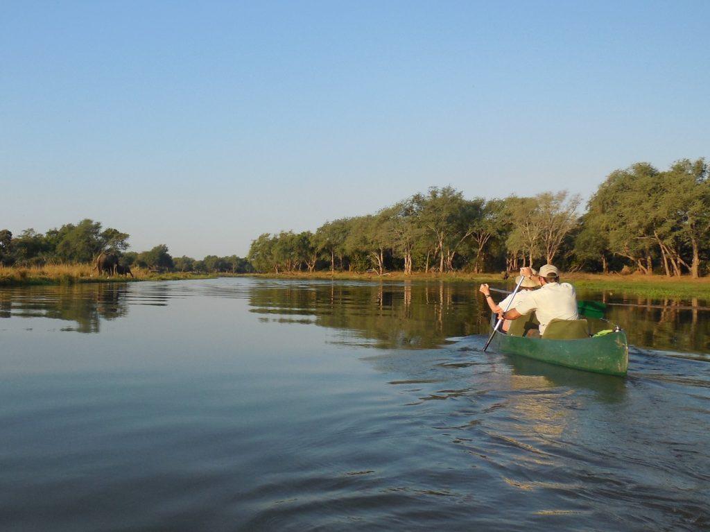 Canoe Safari Lower Zambezi Zambia by Bob Hayne