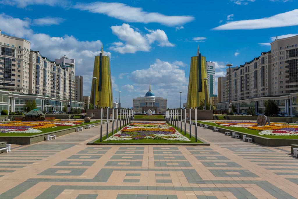 Ak Orda Presidential Palace Nur-Sultan by Alexandr Vlassyuk Shutterstock