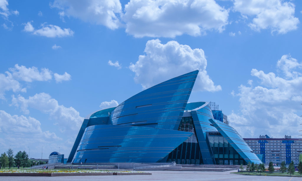 Kazakhstan Concert Hall Nur-Sultan by LapailrKrapai Shutterstock