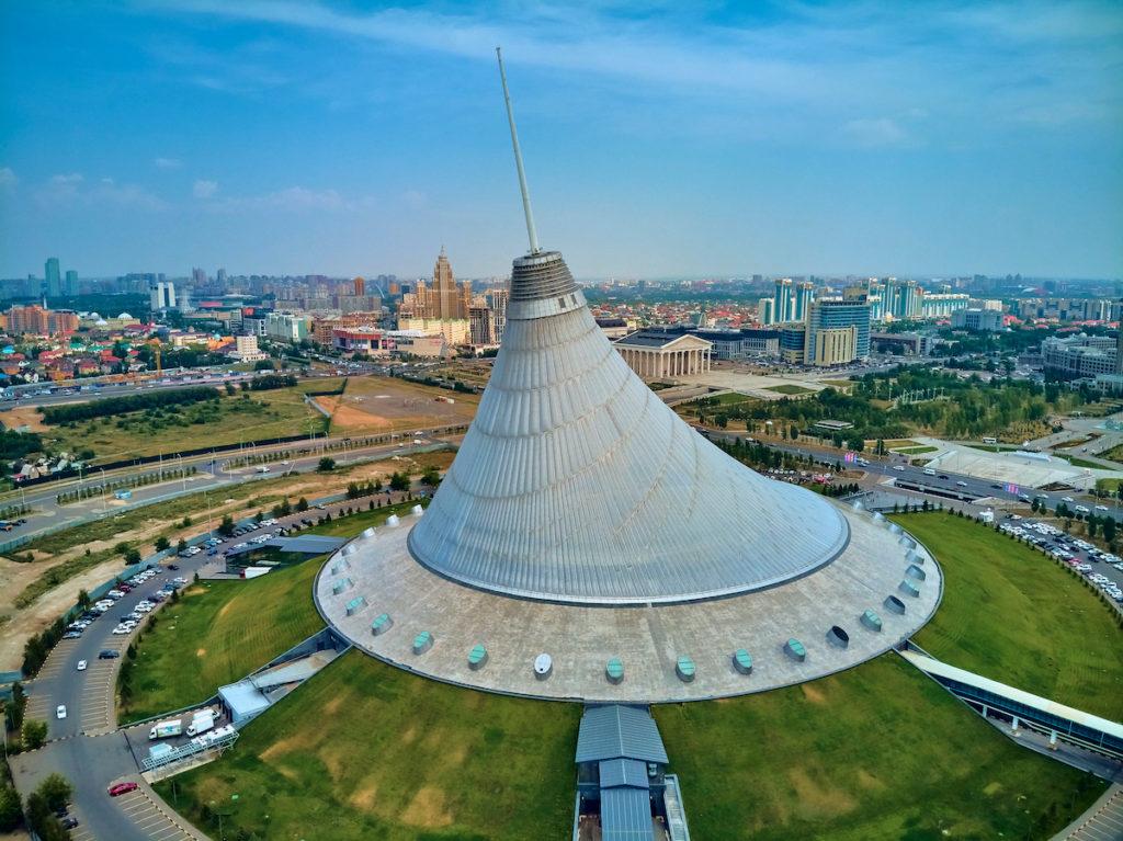 Khan Shatyr Nur-Sultan Kazakhstan by udmurd Shutterstock