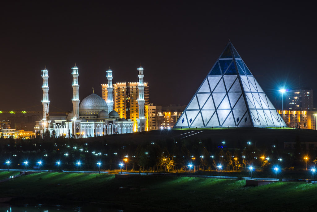 Bizarre buildings: the otherworldly architecture of Nur-Sultan