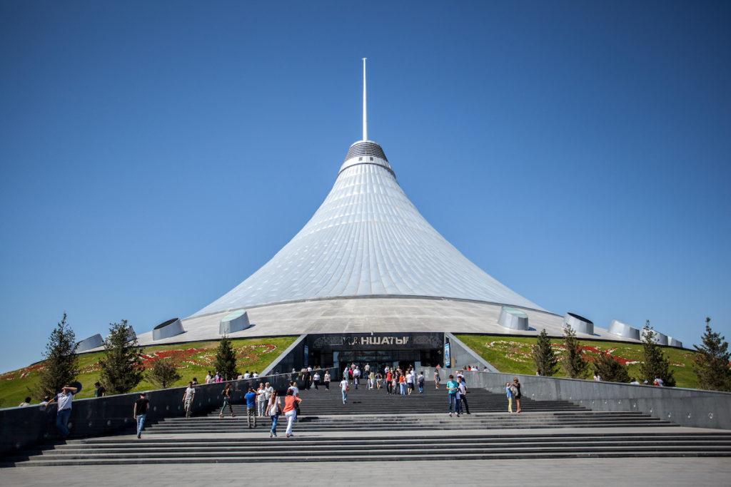 Khan Shatyr Nur-Sultan Kazakhstan by freedast Shutterstock