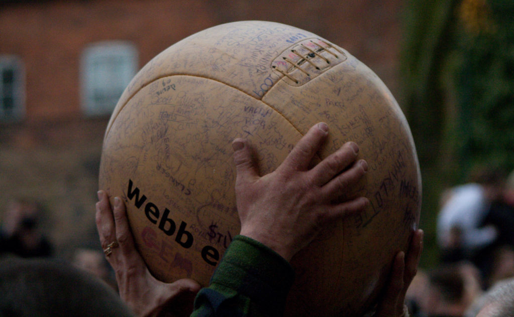 Atherstone Ball Shrove Tuesday England's Pancake Day traditions by Adam Collins Flickr