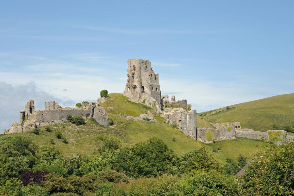 Corfe Castle Dorset by Alexandra Richards