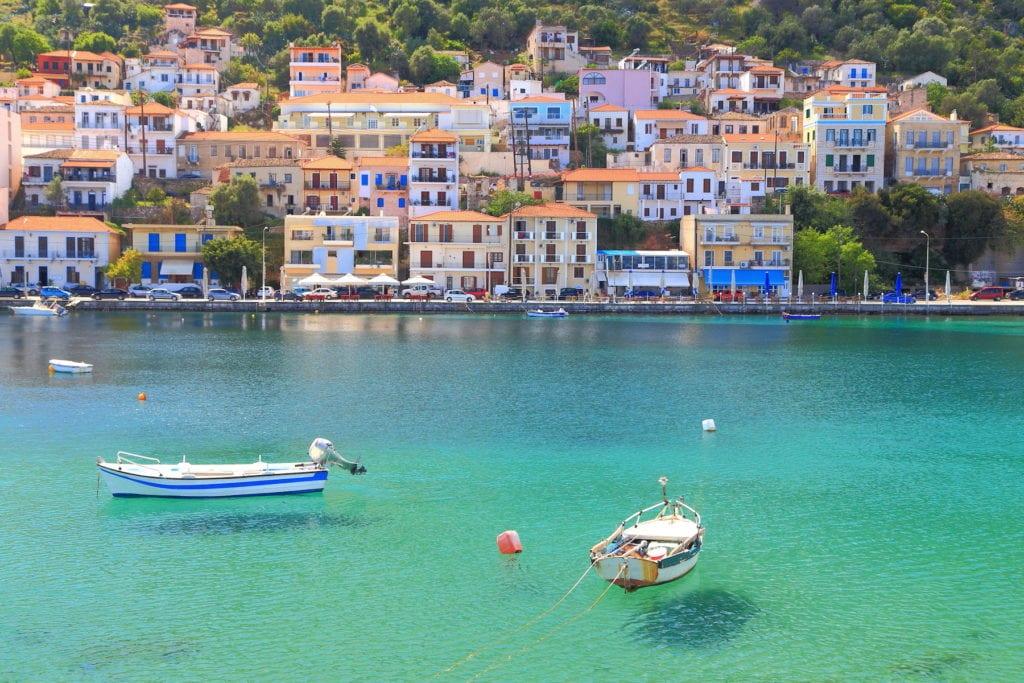 Gythio harbour Peloponnese Greece by Inu Shutterstock