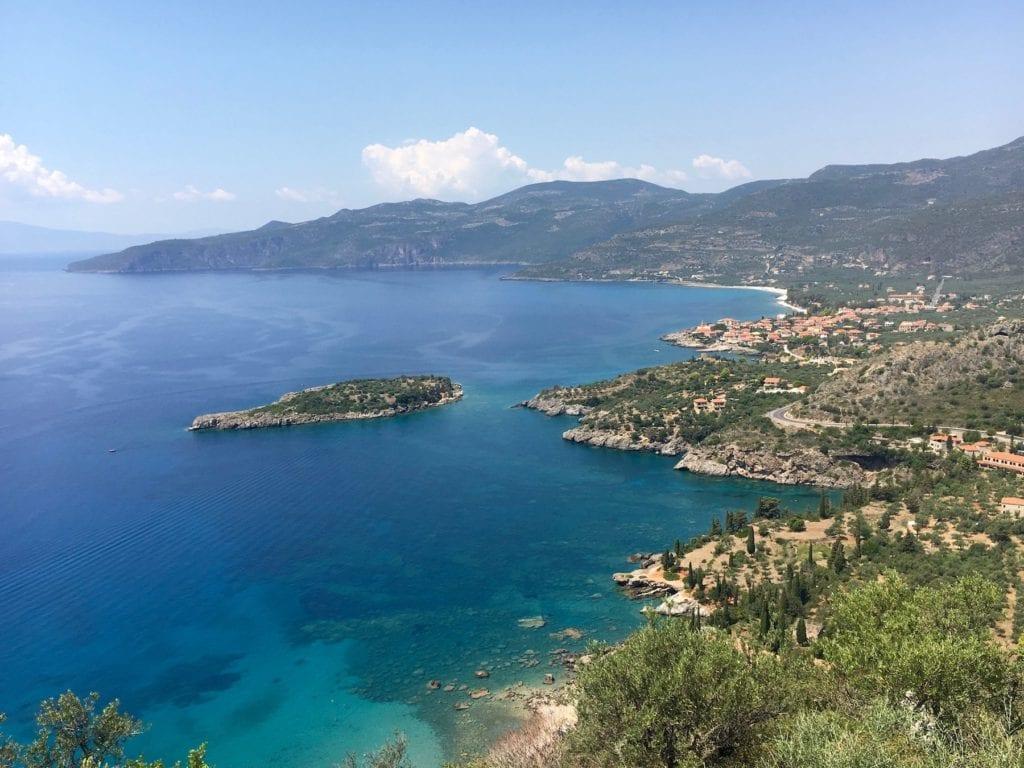 Kardamyli Peloponnese Greece by Tgvtonrado Wikimedia Commons