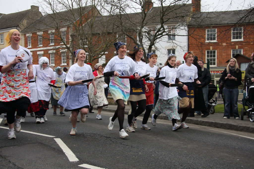 Only Pancake Race Buckinghamshire Shrove Tuesday by Robin Myerscough Flickr