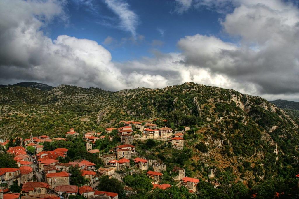 Stemnitsa Peloponnese Greece by Evlahos Wikimedia Commons