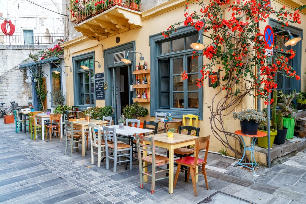 Nafplio town centre by Solomakh Shutterstock