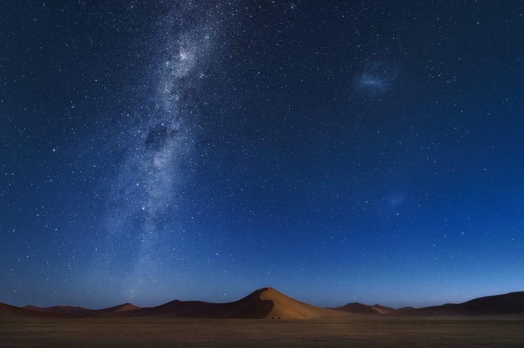 Namibia Stars Over Desert by jirawatfoto Shutterstock