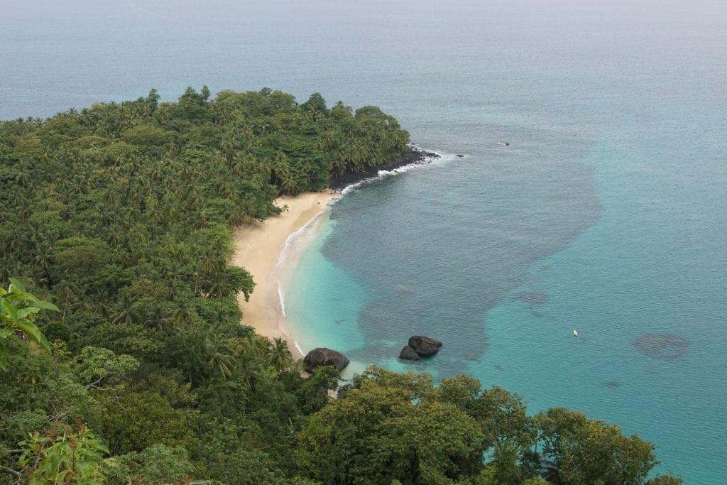 Banana Beach Principe by alfotokunst Shutterstock