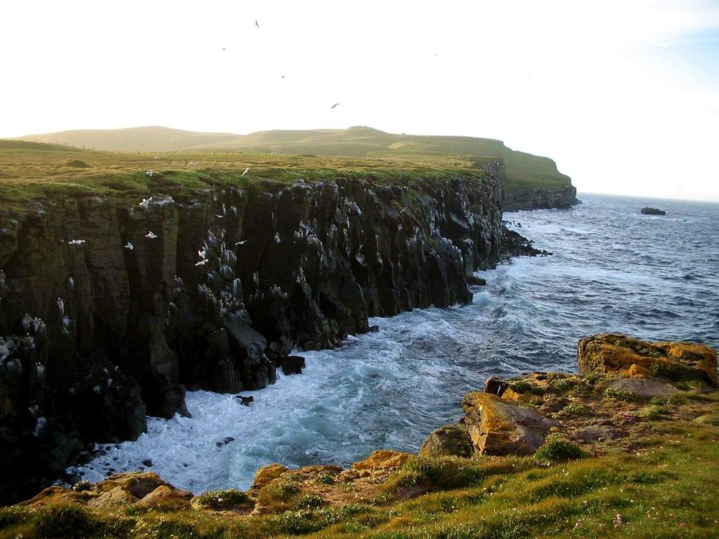 Grimsey Iceland remote island by MosheA Wikimedia