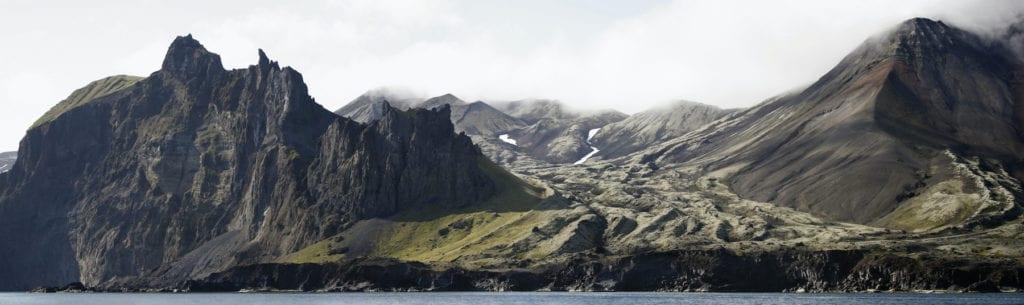 Jan Mayen Norway remote island by Alessandro Vignano' Shutterstock