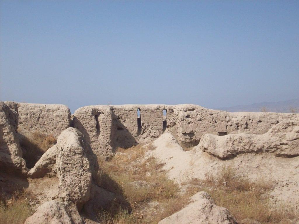 Panjakent ancient city Tajikistan by Zach Knowles Wikimedia Commons