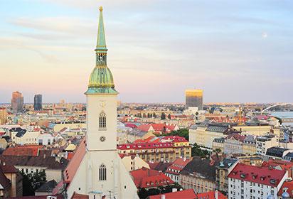 A walking tour of Bratislava's Old Town