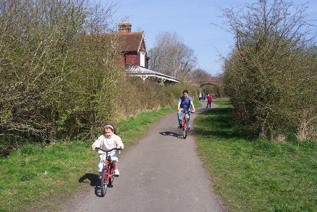 The Cuckoo Trail, Sussex, Ron Strutt