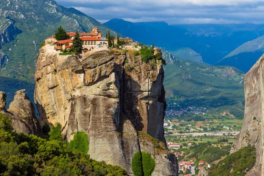 Gregoriat Monastery Mount Athos Northern Greece by Alexandr Zyryanov, Shutterstock