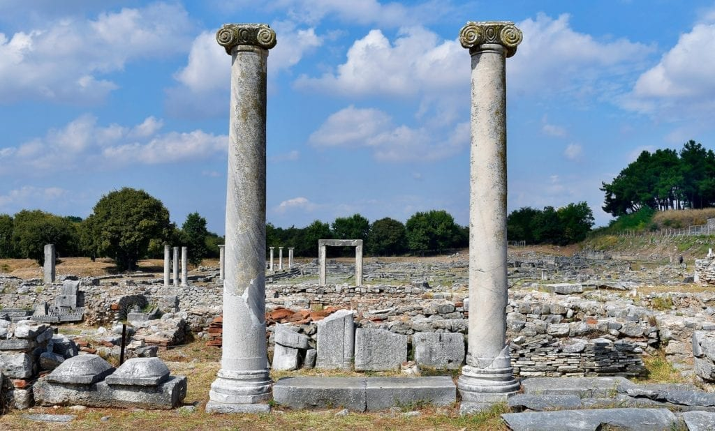 Ancient Philippi Northern Greece by fritz16, Shutterstock