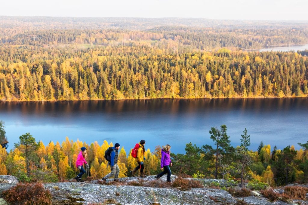 Hiking, Dalsland, West Sweden by Henrik Trygg, West Sweden Tourist Board
