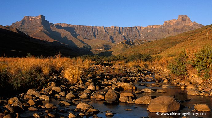 Drakensburg South Africa by Ariadne Van Zandbergen, Africa Image Library
