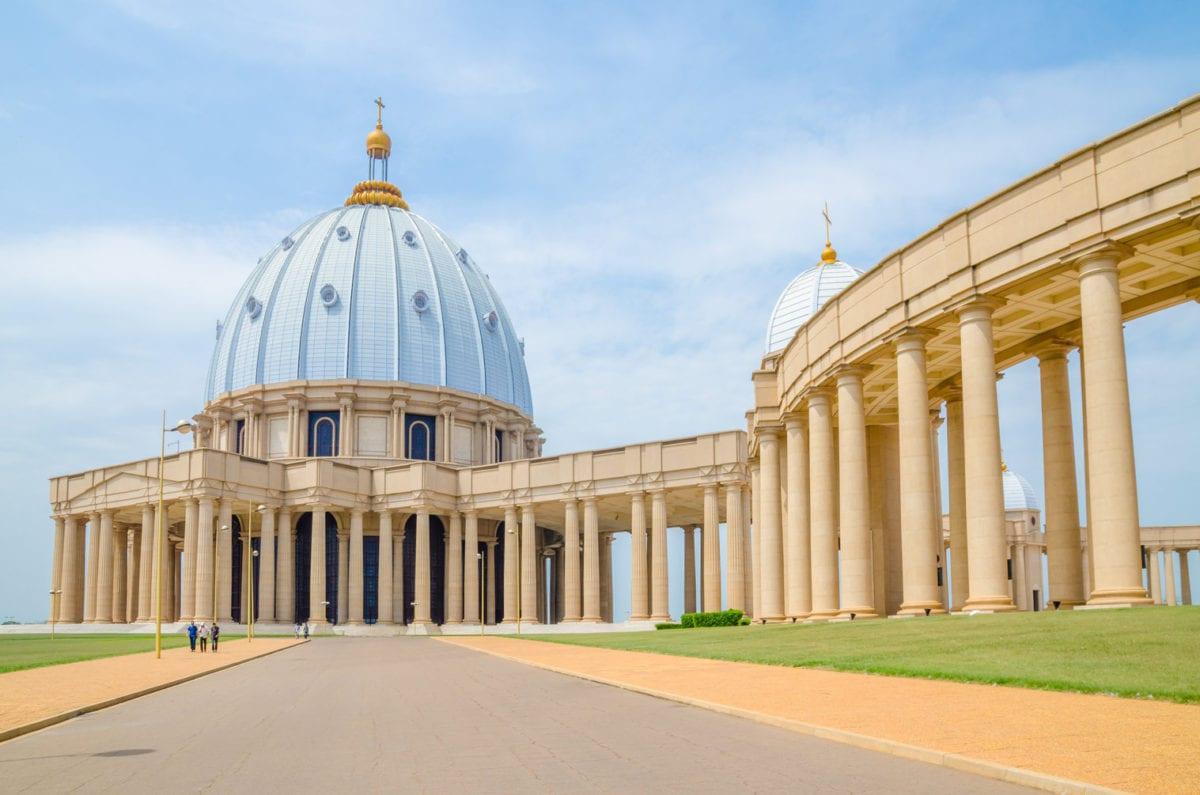 Basilica of Our Lady of Peace Ivory Coast