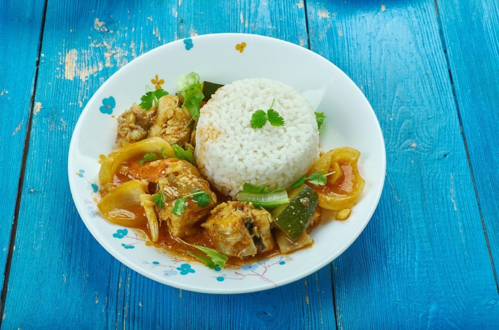Coconut curry Seychelles recipe
