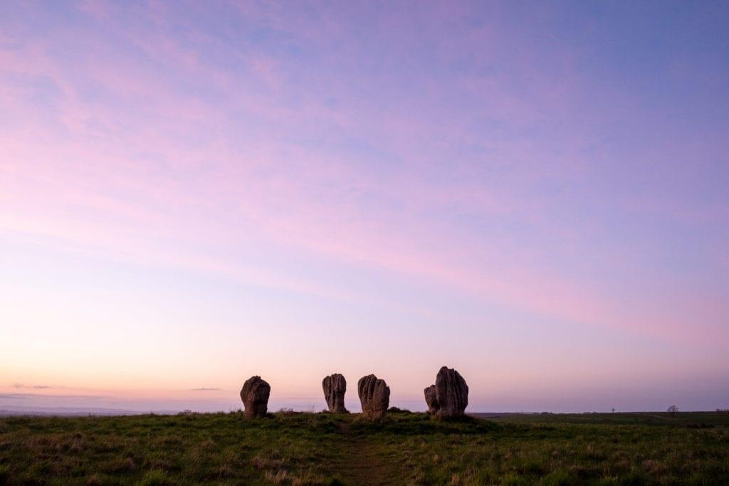 Duddo stones, Northumberland, UK by Hayley Green, Wikimedia Commons
