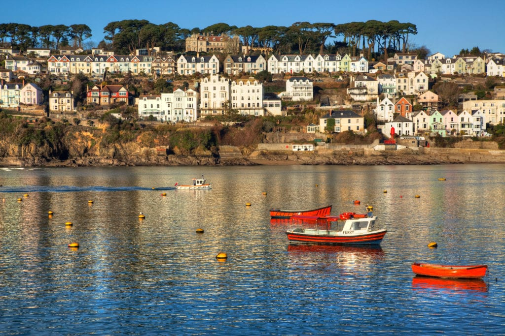 View across to Bodinnick and Ferryside from Fowey © ian woolcock, Shutterstock