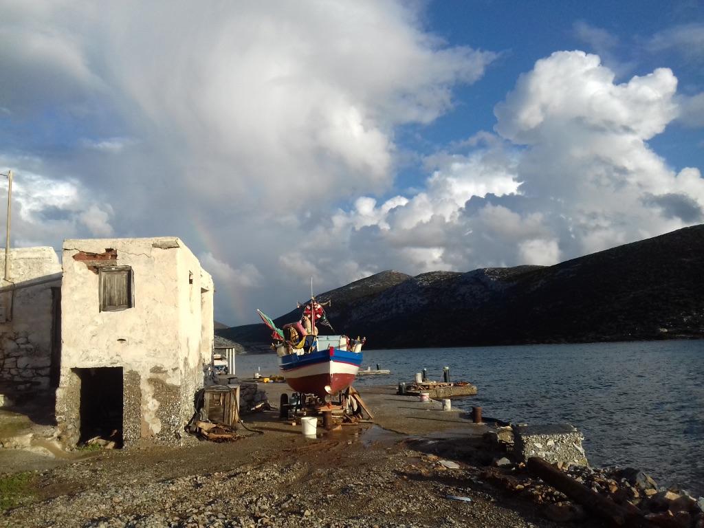 Dodacanese islands greece boat