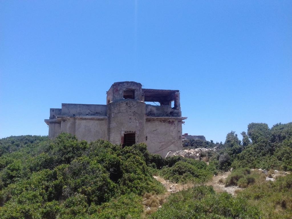 abandoned building greece