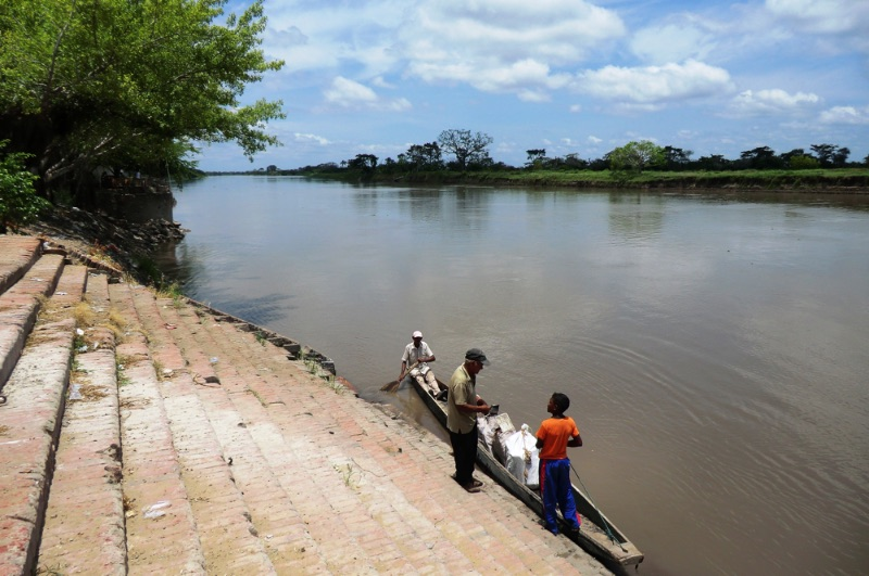 on the magdalena river colombia