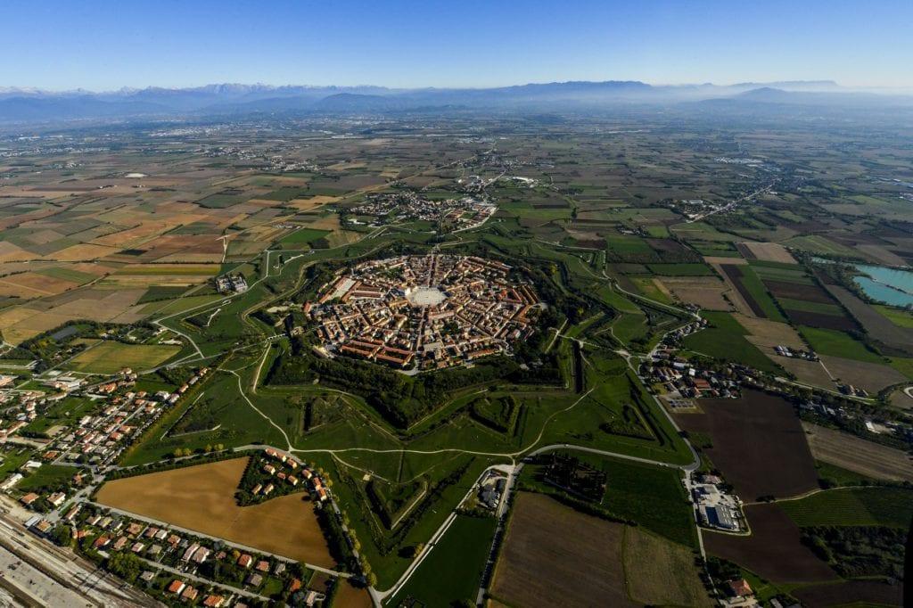 Palmanova Friuli Venezia Giulia Italy travel lockdown