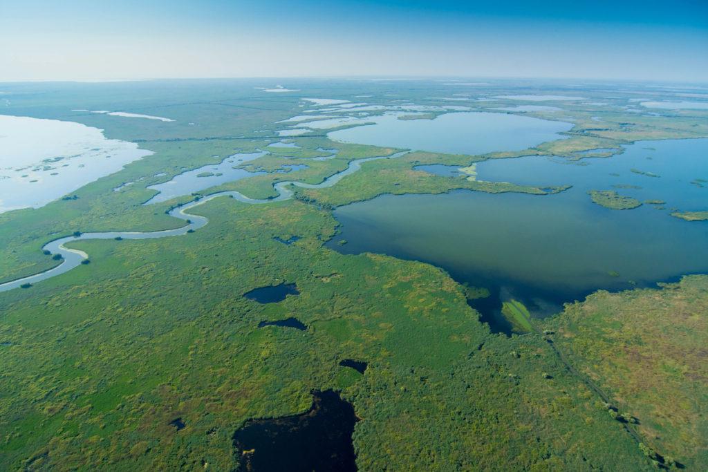 Danube Delta Romania by iliuta goean Shutterstock