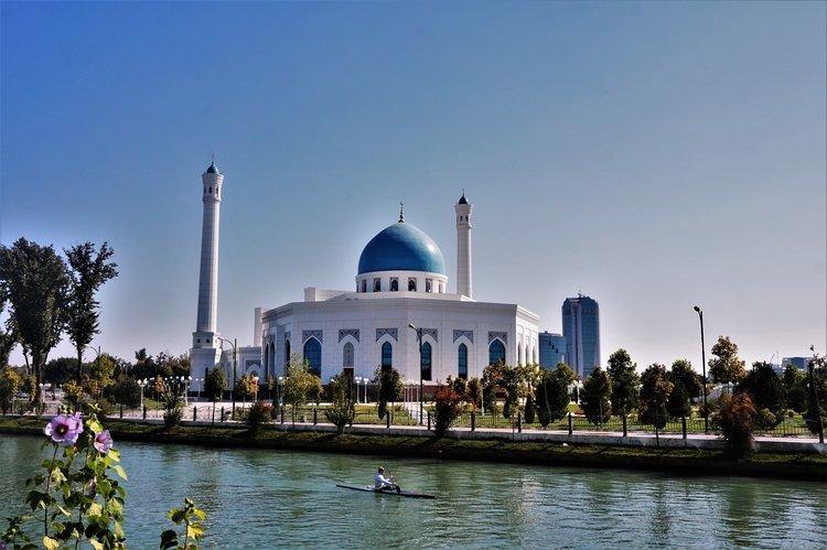 Minor Mosque Tashkent from Anchor Canal by Uzbektoursim