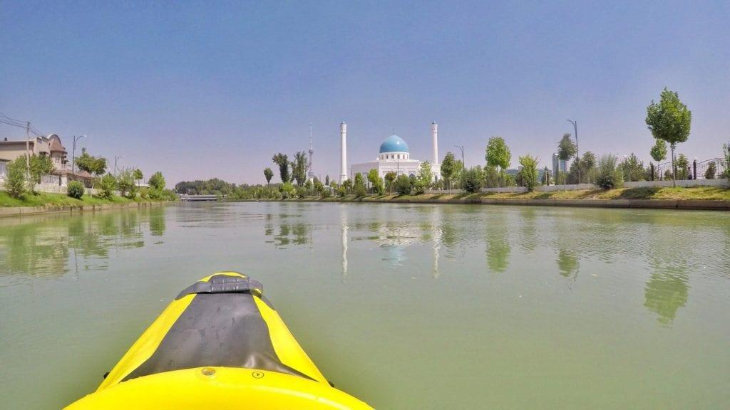 Ankhor Canal kayaking Tashkent