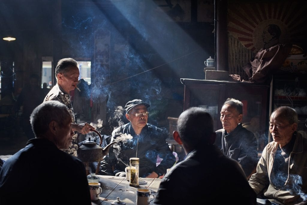 The oldest teahouse in China Sichuan province