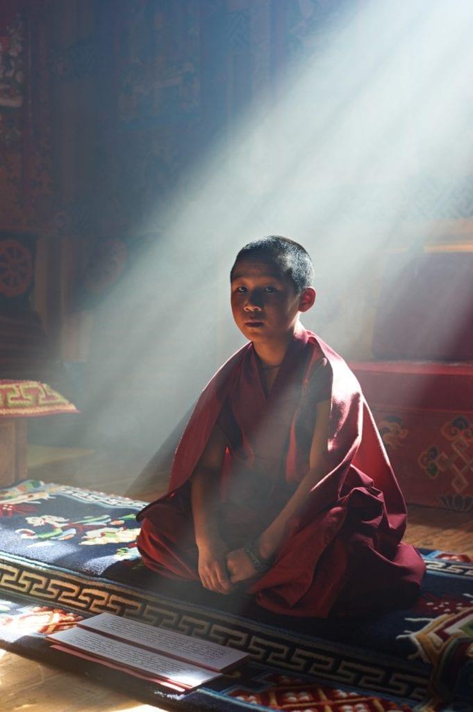 Monk Paro Bhutan by Simon Urwin