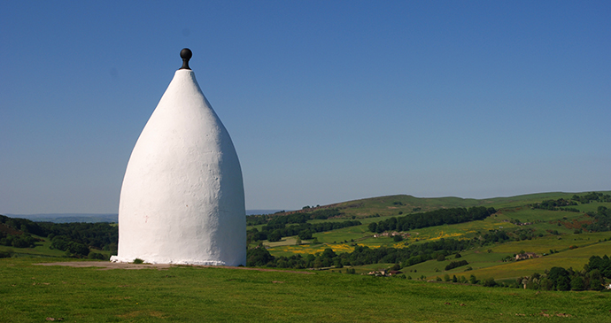 White Nancy Bollington Cheshire England by Stanth, Shutterstock