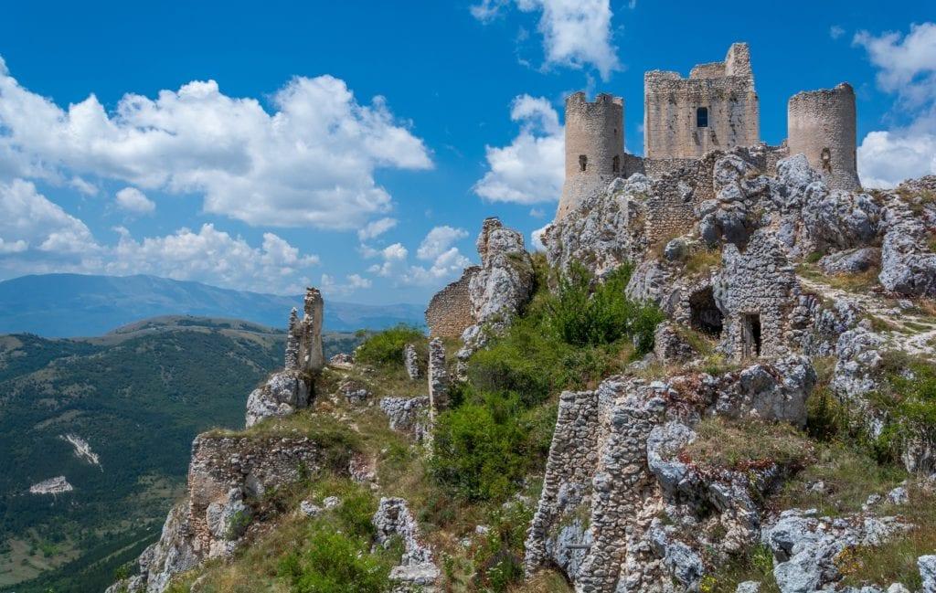 Fortress of Rocca Calascio Abruzzo Italy by Stefano Valeri, Shutterstock italy's finest attractions